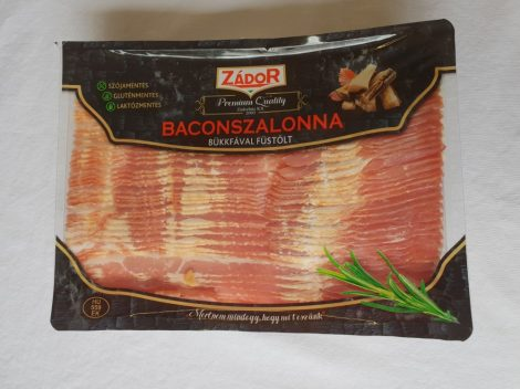 Zádor-hús bacon szeletek füstölt [1kg]