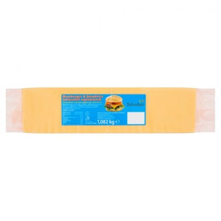 Szeletelt Cheddar lapka sajt [1.082kg]