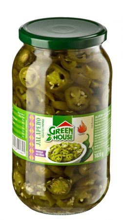GreenHouse szeletelt Jalapeno paprika [900g]