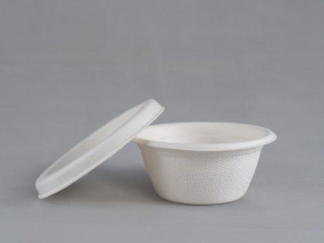 Kóstoltató tálka tető (cukornád) [50db]