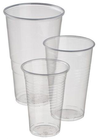 Műanyag pohár 3dl [80db]