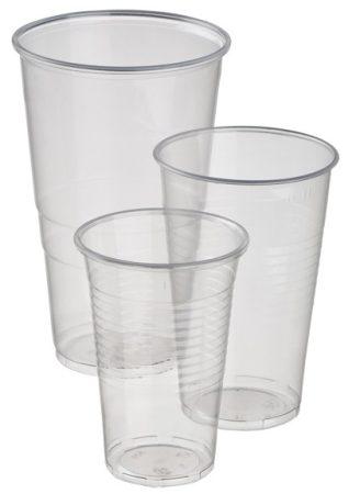 Műanyag pohár 3dl [50db]