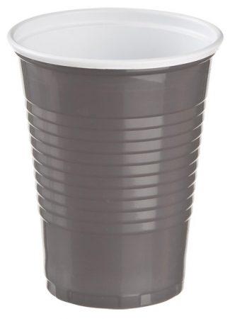 Műanyag pohár Cappuccino 1.5dl barna [100db]