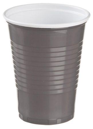 Műanyag pohár Cappuccino 1.8dl barna [100db]